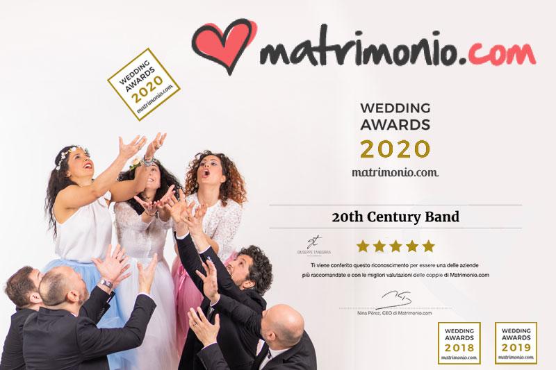 WEDDING AWARDS 2020 by matrimonio.com